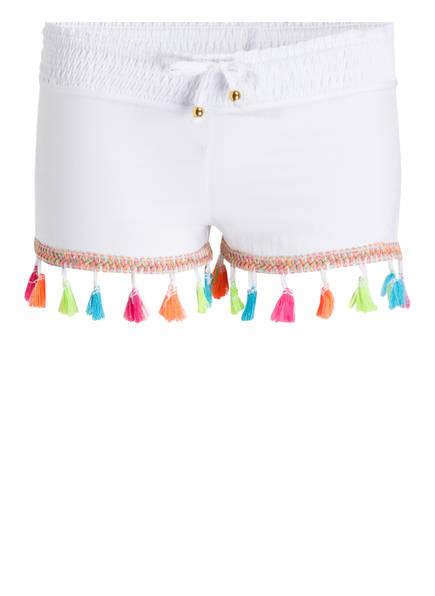 PILYQ Shorts, Farbe: WEISS (Bild 1)