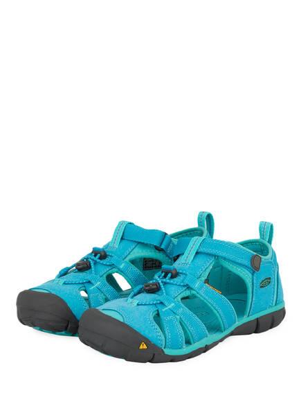 KEEN Outdoor-Sandalen SEACAMP II CNX, Farbe: HELLBLAU/ TÜRKIS (Bild 1)