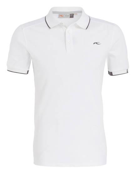 KJUS Piqué-Poloshirt STAN , Farbe: WEISS (Bild 1)