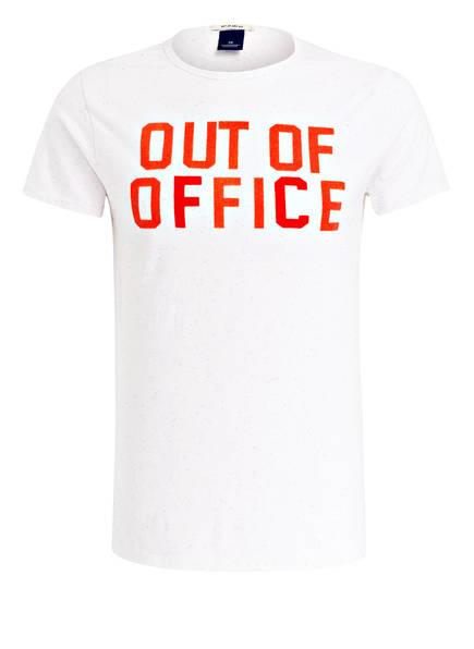 SCOTCH & SODA T-Shirt, Farbe: WEISS MELIERT (Bild 1)