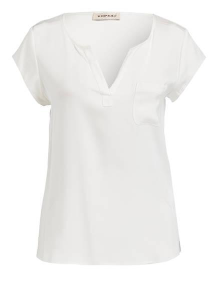 REPEAT Seidenshirt, Farbe: CREME (Bild 1)