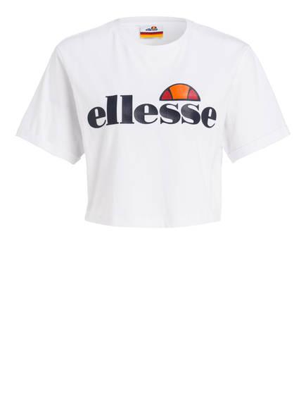 Ellesse Cropped-Shirt Alberta weiss