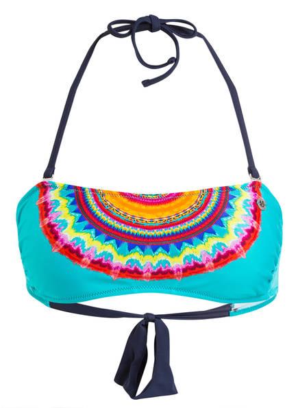 BANANA MOON Bandeau-Bikini-Top BANDO CHIQITA, Farbe: TÜRKIS (Bild 1)