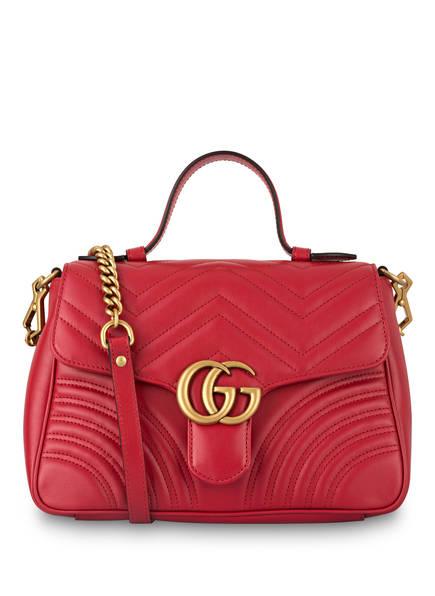 GUCCI Handtasche GG MARMONT SMALL, Farbe: HIBISCUS RED (Bild 1)