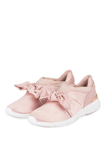 Michael Kors Satin-Sneaker Willa XR7xGqGnm