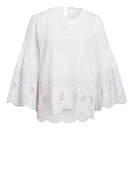 VALÉRIE KHALFON Bluse MIDNIGHT, Farbe: WEISS (Bild 1)