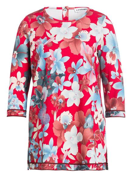 LEONARD FUCHSIA Shirt GISELE, Farbe: NEONPINK/ HELLBLAU/ ALTROSA (Bild 1)