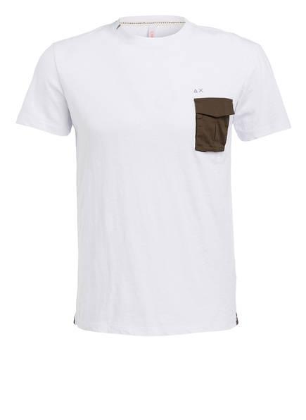 SUN68 T-Shirt, Farbe: WEISS (Bild 1)