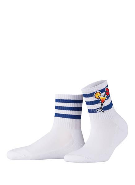 ALTO MILANO Socken , Farbe: WEISS (Bild 1)