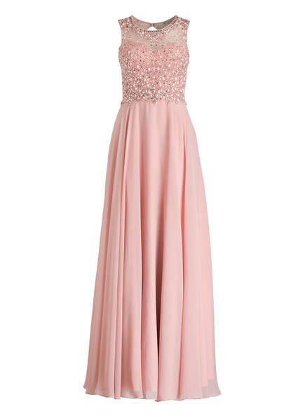 unique Abendkleid mit Stola, Farbe: ROSÉ (Bild 1)