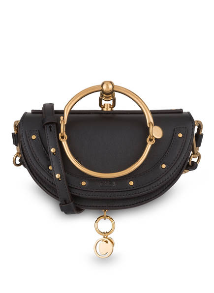 Chloé Handtasche NILE MINAUDIÈRE, Farbe: BLACK (Bild 1)