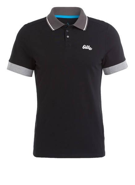 odlo Piqué-Poloshirt NIKKO, Farbe: SCHWARZ (Bild 1)