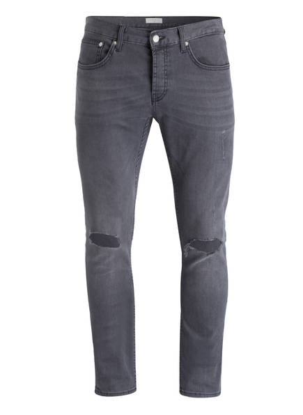 sandro Destroyed-Jeans Skinny Fit, Farbe: GRIS GREY (Bild 1)