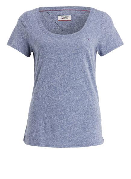 TOMMY JEANS T-Shirt, Farbe: BLAU MELIERT (Bild 1)
