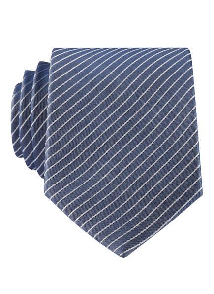 PAUL Krawatte, Farbe: MARINE/ WEISS (Bild 1)