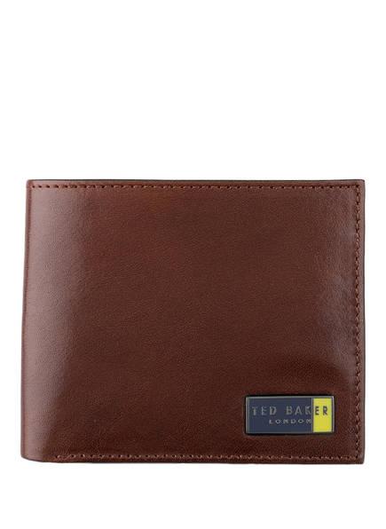 TED BAKER Geldbörse, Farbe: DUNKELBRAUN (Bild 1)