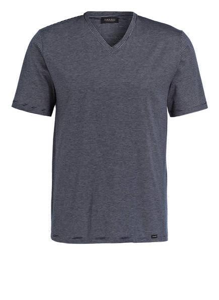 HANRO V-Shirt SPORTY STRIPE