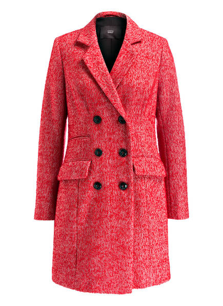 STEFFEN SCHRAUT Mantel, Farbe: ROT/ WOLLWEISS (Bild 1)