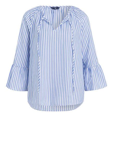 GANT Bluse mit 3 4-Arm, Farbe BLAU  WEISS GESTREIFT (Bild b223bacfeb