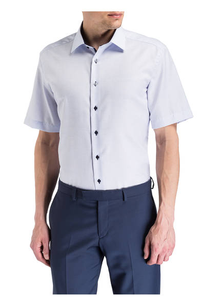 hemd Hellblau Modern Fit Halbarm Eterna H6wxpp