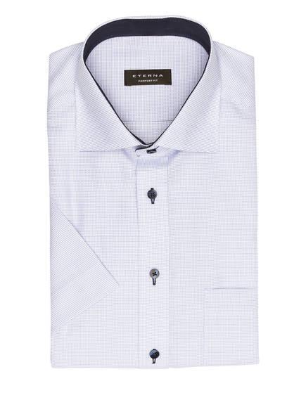 ETERNA Halbarm-Hemd Comfort Fit, Farbe: HELLBLAU/ WEISS (Bild 1)