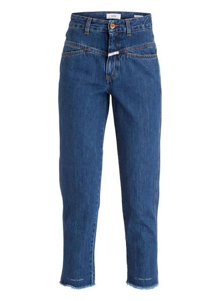 CLOSED Mom-Jeans PEDAL PUSHER, Farbe: DARK SALT'N PEPPER (Bild 1)