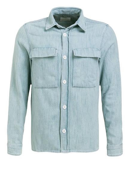 SAMSØE & SAMSØE Overshirt Regular Fit in Jeans-Optik, Farbe: HELLBLAU (Bild 1)