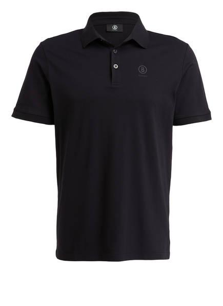 BOGNER Piqué-Poloshirt DANIEL Modern Fit, Farbe: SCHWARZ (Bild 1)