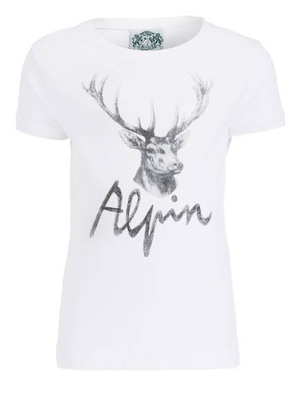 Hammerschmid T-Shirt ALPIN, Farbe: WEISS (Bild 1)
