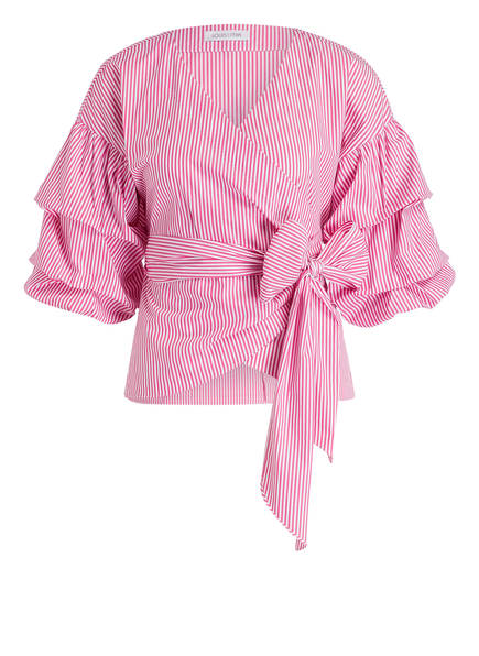 Gestreift Louis Mia And Pink Weiss Wickelbluse xwUfqp4O
