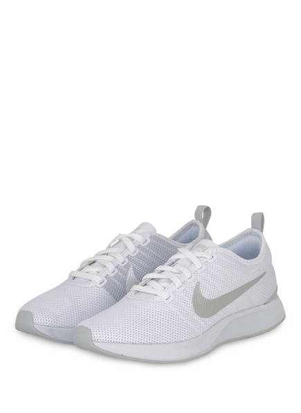 Nike Sneaker DUALTONE RACER, Farbe: WEISS/ HELLGRAU (Bild 1)