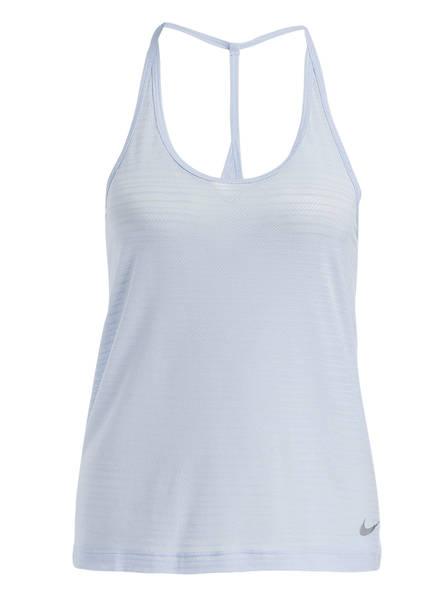 Nike Tanktop MILER, Farbe: HELLBLAU (Bild 1)