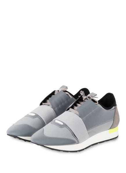 BALENCIAGA Sneaker RACE RUNNERS, Farbe: GRAU (Bild 1)