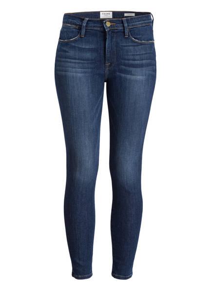 FRAME DENIM Jeans LE HIGH SKINNY, Farbe: YORK BLUE (Bild 1)