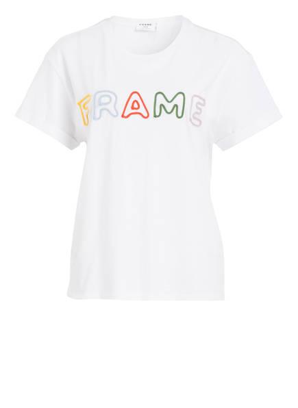 FRAME DENIM T-Shirt, Farbe: WEISS (Bild 1)