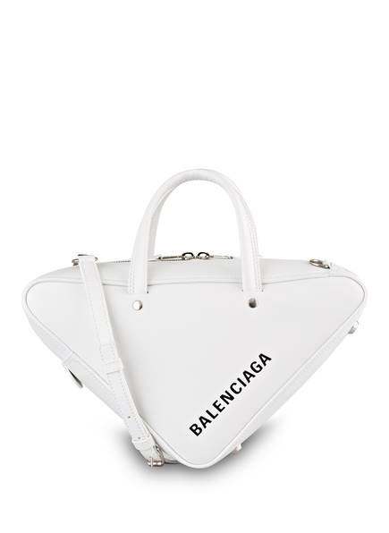 BALENCIAGA Handtasche TRIANGLE DUFFLE S, Farbe: WEISS (Bild 1)