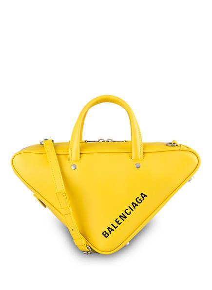 BALENCIAGA Handtasche TRIANGLE DUFFLE S, Farbe: GELB (Bild 1)