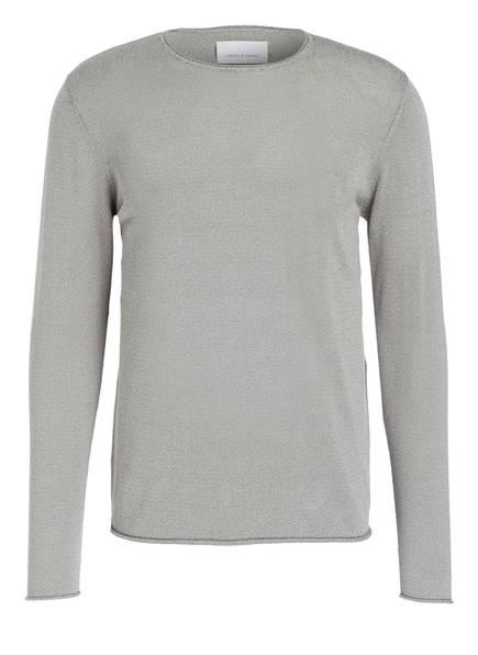 SAMSØE & SAMSØE Pullover EPHRAIM, Farbe: GRAU MELIERT (Bild 1)