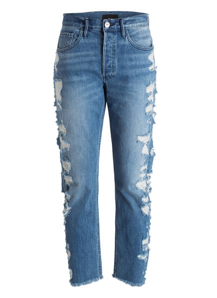 3x1 Destroyed-Jeans, Farbe: DOSA BLUE (Bild 1)
