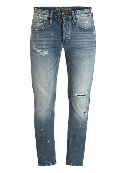 DENHAM Destroyed-Jeans RAZOR Slim Fit, Farbe: 00001/2 BLUE (Bild 1)
