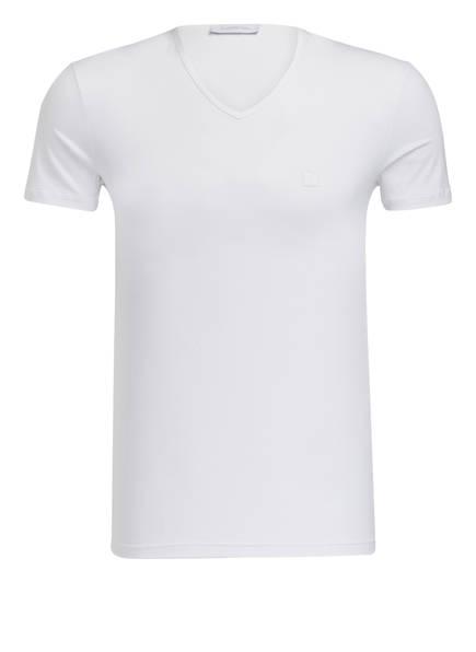 Ermenegildo Zegna V-Shirt, Farbe: WEISS (Bild 1)