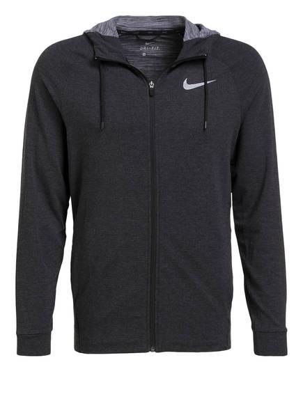 Nike Hoodie DRI-FIT, Farbe: DUNKELGRAU (Bild 1)