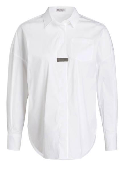 BRUNELLO CUCINELLI Bluse , Farbe: WEISS (Bild 1)