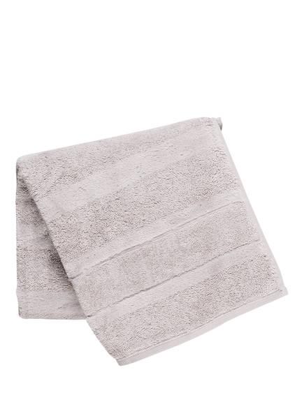 Cawö Handtuch NOBLESSE, Farbe: SILBER (Bild 1)