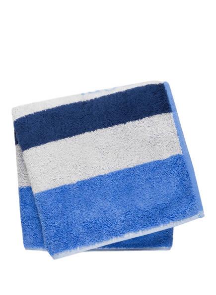 JOOP! Handtuch CLASSIC STRIPES, Farbe: BLAU/ DUNKELBLAU GESTREIFT  (Bild 1)