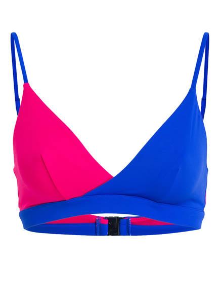 Tommy Pink Hilfiger bikini top Blau Bustier A0UcrPqwW0