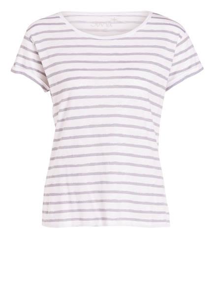 Juvia shirt Gestreift Grau Weiss T r6F5qnw0rP