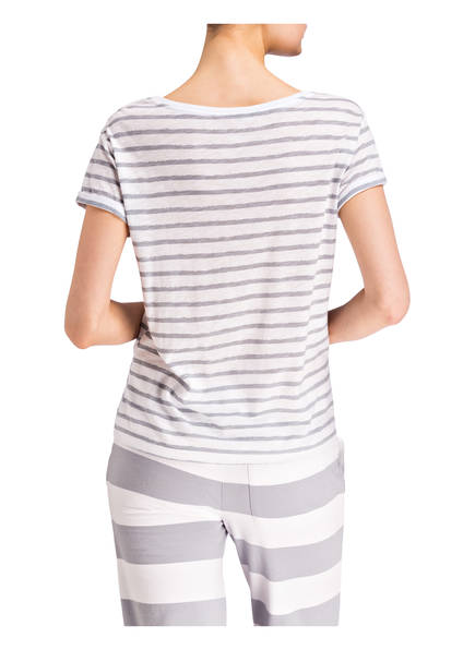 Weiss Juvia Gestreift Grau shirt T wCTqfp