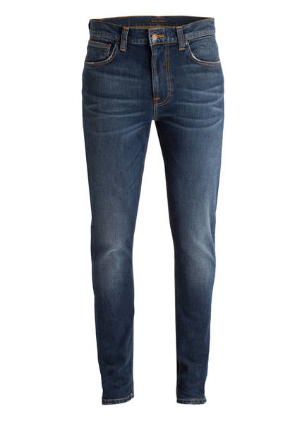 Nudie Jeans Jeans LEAN DEAN Slim Fit, Farbe: DARK BLUES (Bild 1)