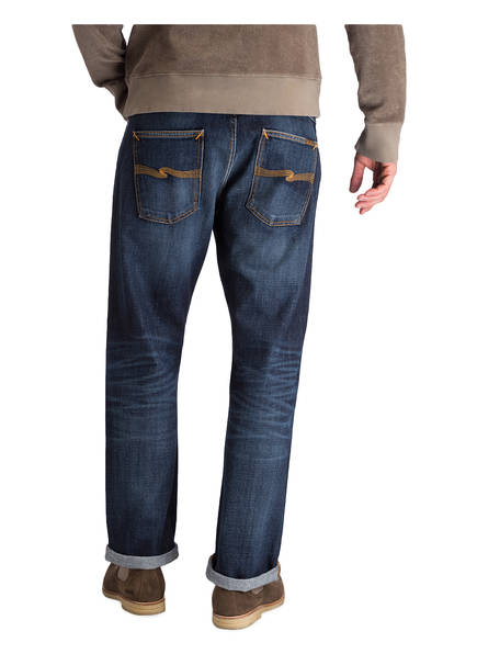 Authentic Nudie Fit Jeans Sixten Dark Sleepy Blue Regular wIXUX6x